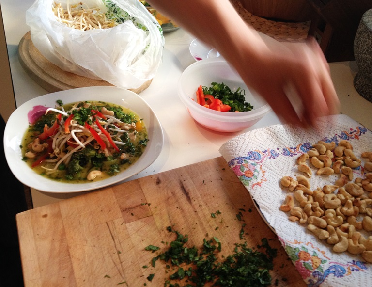 Grünes Thai-Hühnercurry_2
